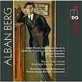Alban BERG 3 Pieces for Orchestra Violin Concerto SACD MDG Tauran Monot