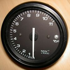1999-on Ducati NOS brand new tachometer 11,000 RPM with all white numbers