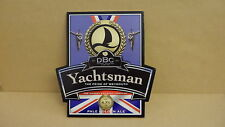 DBC Yachtsman Pale Golden Ale Beer Pump Clip Bar Collectible