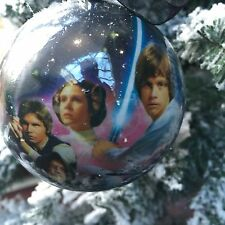 Star Wars Decorations Christmas Tree Baubles Pack of 2 For Sale