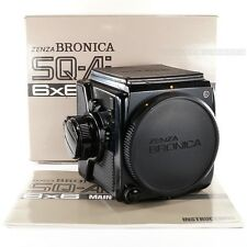 Boxed Zenza BRONICA SQ-Ai 6x6 Body Medium Format + Crank + Split Image Screen