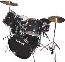 Schlagzeug Set komplett + Ständer, Becken, Hocker, Neu