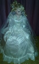 Porcelain Bride Doll Umbrella Stand