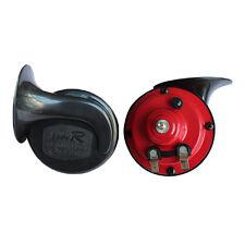 Pair High Quality Universal Snail Iron Car Loud Horn Siren 510hz 115DB Dual-Tone