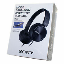 Sony MDR-ZX110NC MDRZX110NC Noise Cancelling Swivel Stereo Headphone NEW SEALED