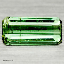 1.68 CT NATURAL! GREEN NIGERIA TOURMALINE OCTAGON