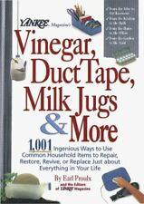 Yankee Magazine's Vinegar, Duct Tape, Milk Jugs & More  (NoDust)