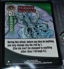 Rescue Mission # 112/131 X-Men Trading Playing Cards Games TCG Commons Xmen MINT