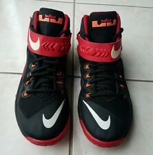 Nike Lebron Zoom Soldier 8 VIII Black/Red/Hyper Crimson 653641-016 Size US 8