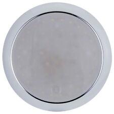 LED Round Interior Exterior White Red Light Touch On-On-Off 12/24 Volt 24 LED's