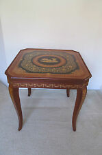 Notturno Intarsio Sorrento Italy Italian Game Table Roulette Chess Inlaid Wood
