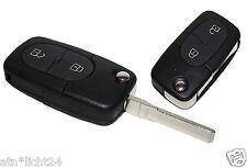 Funk Klappschlüssel Schlüssel VW Golf IV 4 Bora Passat 2 Tasten Tastenfeld  Bart