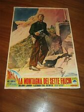 FOTOBUSTA,1952,La montagna dei sette falchi,Red Mountain Dieterle,Alan Ladd west