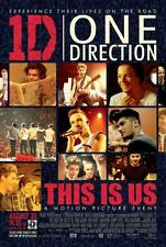 ONE DIRECTION: THIS IS US 27x40 D/S Original Movie Poster One Sheet 2013 Concert