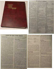 Watchtower Publications Index 1930-1985 Jehovah's Witnesses