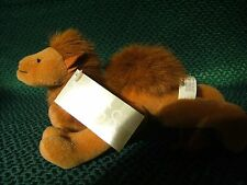 """Russ Berrie """" Sahara """"  the Camel 8""""  approx Soft/Plush Toy with tag"""