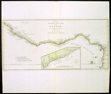 1788 Bowen Large Antique Map The West Coast of Africa