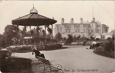 Spa Gardens, Hydro & Band Stand, RIPON, Yorkshire