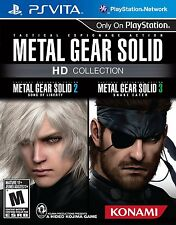 Metal Gear Solid HD Collection (Sony PlayStation Vita, 2012)