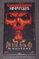 Dungeons & Dragons Miniatures : Diablo II Monsters -WOTC {NEW-SEALED-SHRINK} OOP