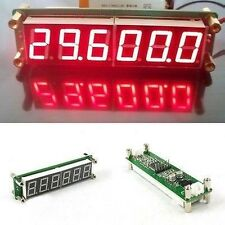 0.1MHz~65MHz RF Frequency Counter Cymometer meter LED FOR Ham Radio amplifier R