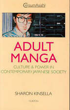 Adult Manga: Culture and Power in Contemporary Japanese Society-ExLibrary