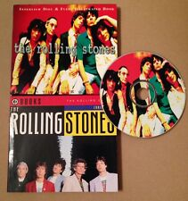 The Rolling Stones Ltd Edition Interview Cd & Illustrated Book Set Very Rare!