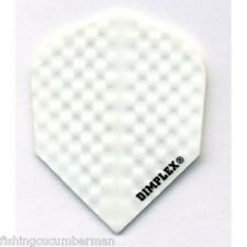 5 SETS OF DIMPLEX PURE WHITE DART FLIGHTS
