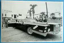 "12 By 18"" Black & White Picture Outrageous Custom Limo"