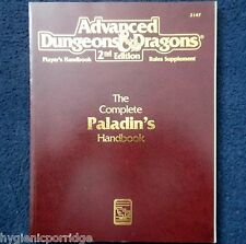 2147 The Complete Paladins Handbook Advanced Dungeons & Dragons D&D RPG Players