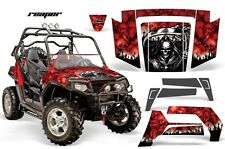 NEW AMR RACING GRAPHICS KIT POLARIS RZR 800 800S 2007-10 RED REAPER Full Kit NEW