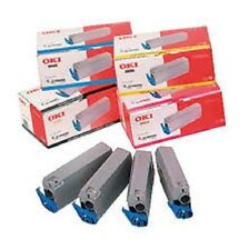 Original OKI Rainbow Toner Kit OKI C9100 C9300 C9500 C5 / 1101101 OVP Cartridges