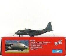 Herpa Wings Austrian Army / Bundesherr Lockheed C-130 Hercules 1:500 (526784)