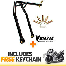 Motorcycle Triple Tree Headlift Front Lift Stand Attachment+Sportbike Keychain