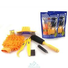 Bicycle cleaing Tool kits Chain Cleaner+tire Brushes+Bike Cleaning gloves