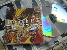 Passion Pit – The Reeling  Frenchkiss Records – CDr PROMO CD Single