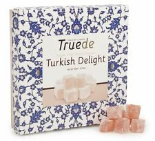 SUGAR FREE 110g New Rose Flavour Turkish Delight Truede GM/ GLUTEN FREE Diabetic