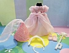 Kelly Doll Clothes *Pink Princess Fairy Dress Hat Shoes & Accessories* (j)