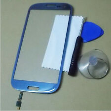 New LCD Touch Screen Digitizer Lens Glass for SamSung Galaxy S3 S III i9300 Blue