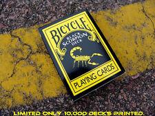 Carte da gioco Bicycle BLACK SCORPION,poker size