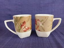 222 Fifth Antiqua MUG - SET of TWO (2) *have more items* Butterfly