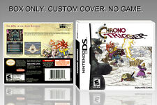 "NINTENDO DS : CHRONO TRIGGER. UNOFFICIAL COVER. ORIGINAL BOX. ""NO GAME"". ENGLISH"