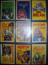 1960 FONEY ADS COMPLETE(72) CARD SET LEAF *NMMT*  THE ORIGINAL WACKY PACKS