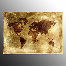 Canvas Prints For Decoration Wall Art Canvas Printed Old World Map-No Frame