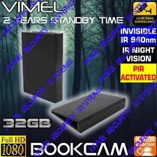 Wireless Security Camera Book Cam House Home DVR Nanny Room Office No SPY Hidden