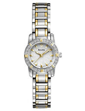 Bulova 98R155 Women's Highbridge Dress Two Tone SS Diamond Watch