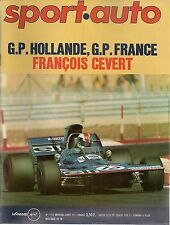SPORT AUTO 115 1971 GP DE HOLLANDE COUPE DES ALPES GP DE FRANCE ISO LELE 350