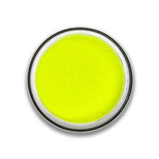 Stargazer UV Glow EyeShadow Loose Powder Neon Eye Dust Colour Luminous - Yellow