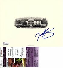 Ted Cruz In-Person Signed White House Engraving (BEP) w/ JSA COA # K08082