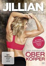 JILLIAN MICHAELS - JILLIAN MICHAELS-DER PERFEKTE OBERKÖRPER   DVD NEU